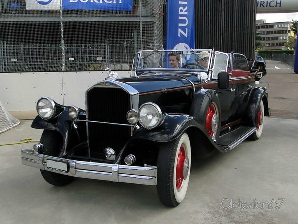 pierce arrow model 42 touring 1931 a