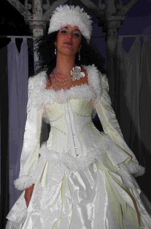 1 robe de marie corset princesse des glaces cratrice marjorie g cration vende corsetier d'art