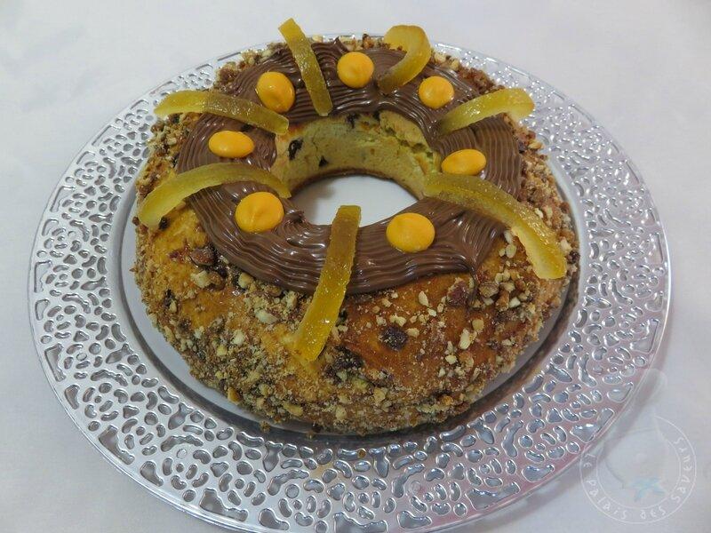 Gâteau des rois chocolat orange