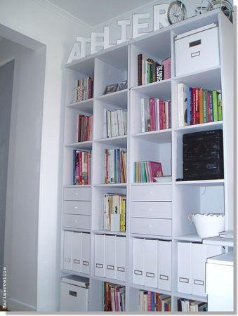 Bibliothèque de l'atelier Marimerveille