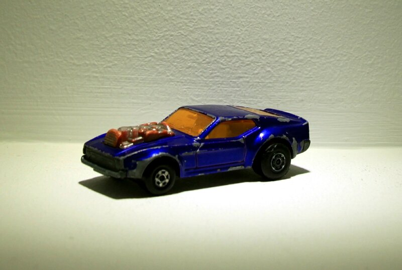 Ford mustang piston popper (ref 10) Matchbox
