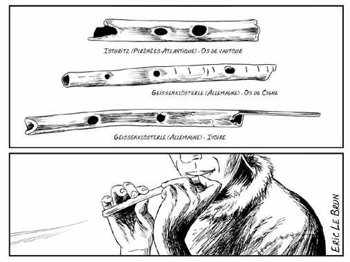 Flutes aurignaciennes