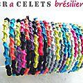 Un bracelet brésilien chez céline factory