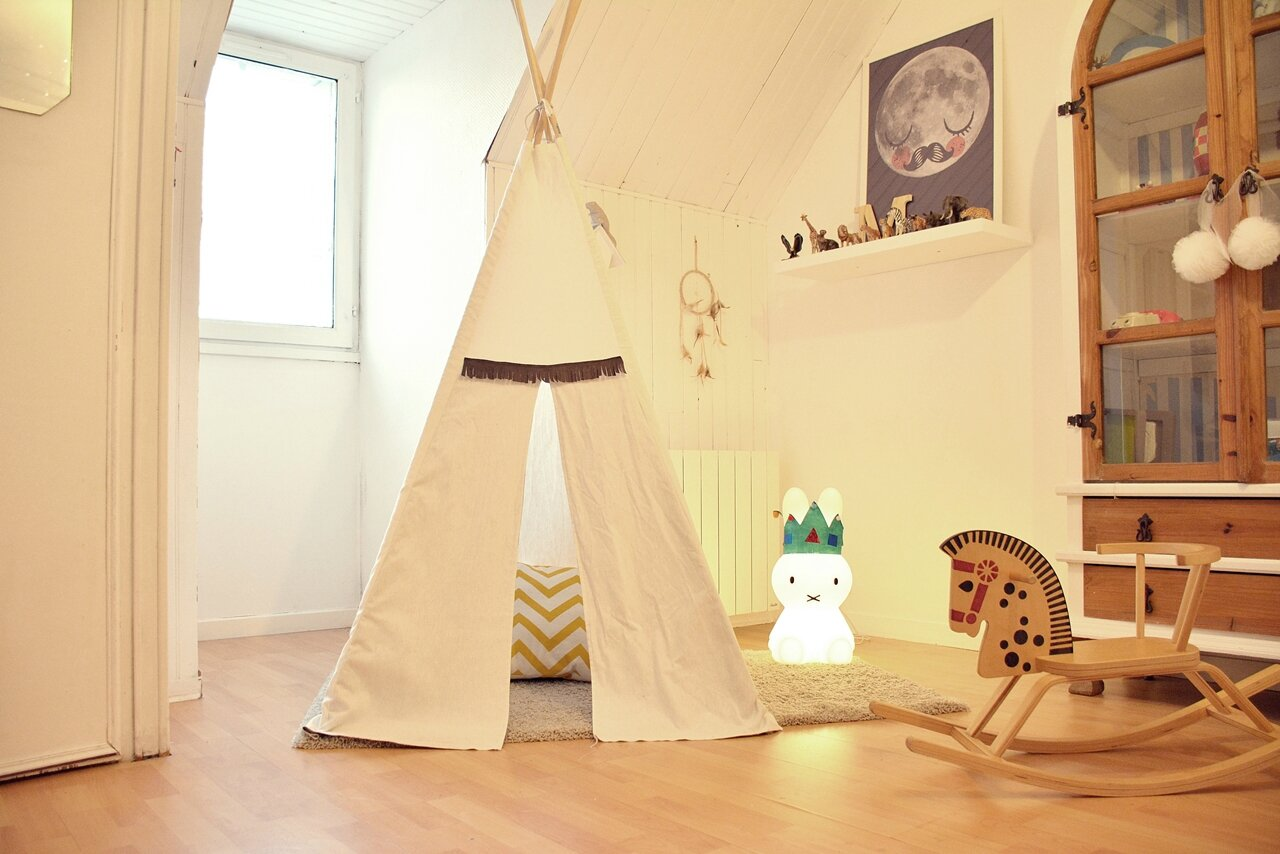 tuto fabriquer soi m me un tipi jolis biais. Black Bedroom Furniture Sets. Home Design Ideas