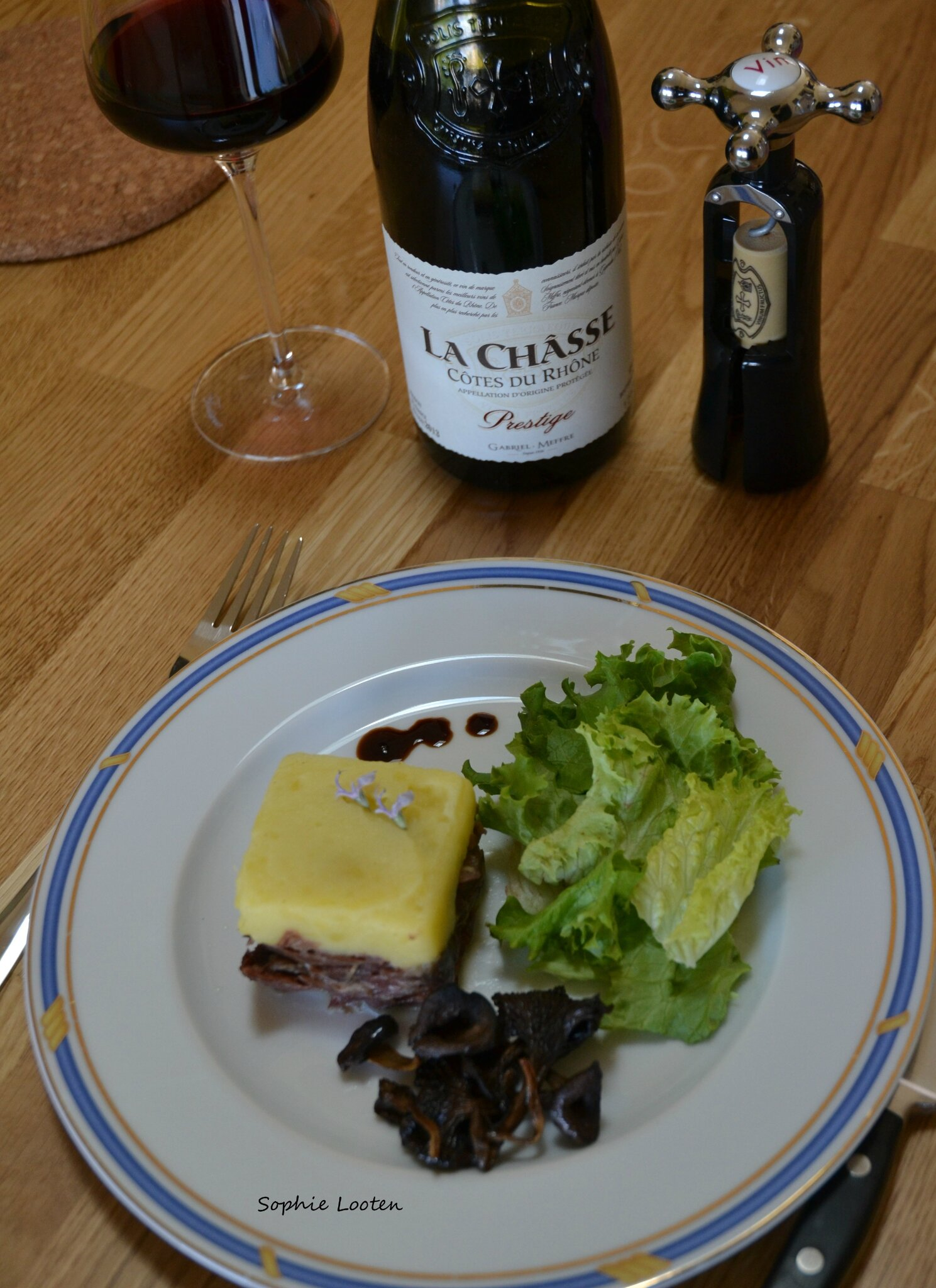 parmentier canard lachasse