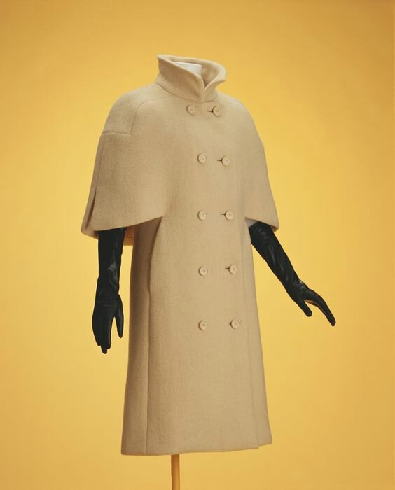 Cristobal Balenciaga, Coat, 1963