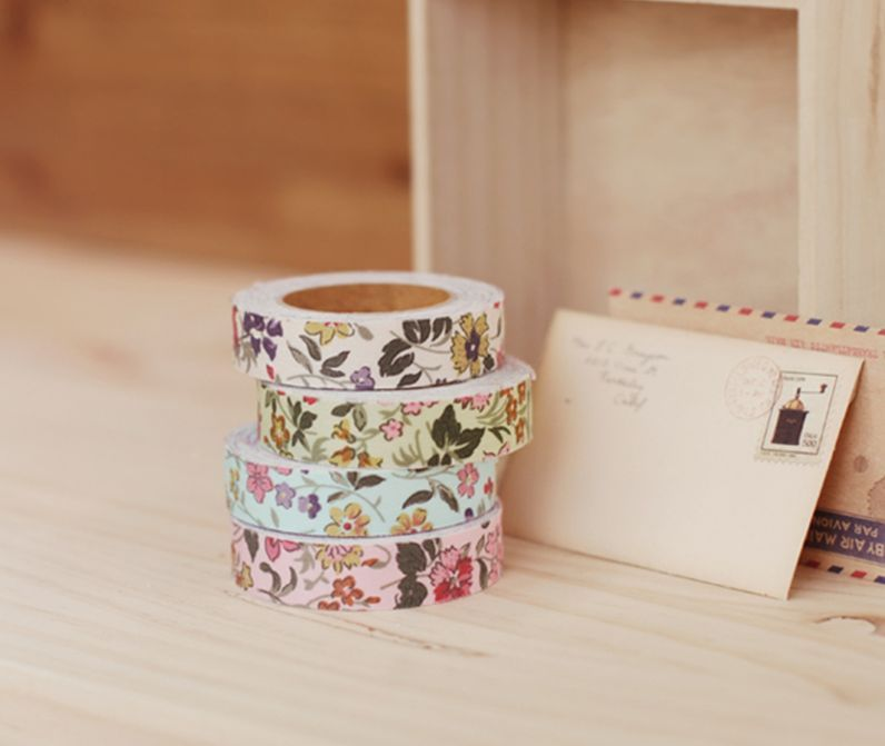 Masking tape liberty en tissu chez Happy Home - Happy Home