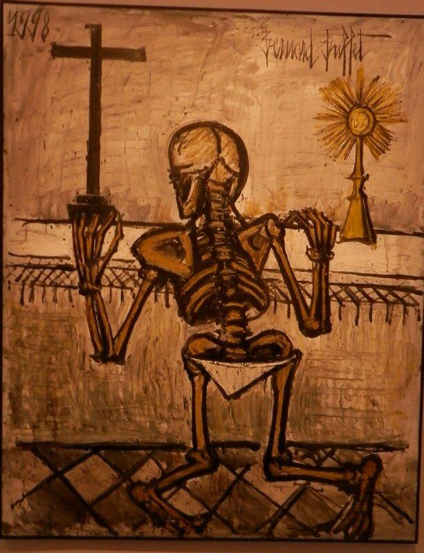 Buffet Squelette en prière 1998