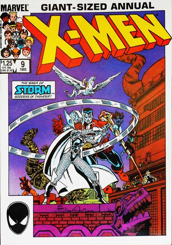 uncanny x-men annual 9 storm goddess of thunder