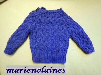 pull bleu 1