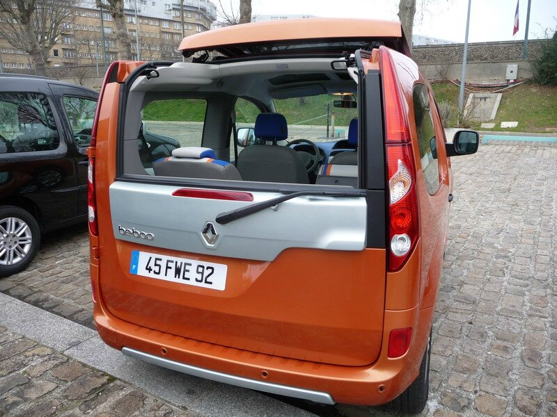 renault kangoo be bop 2009 2011 zoom auto blog. Black Bedroom Furniture Sets. Home Design Ideas