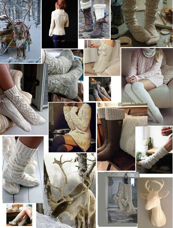De la laine pour l'hiver