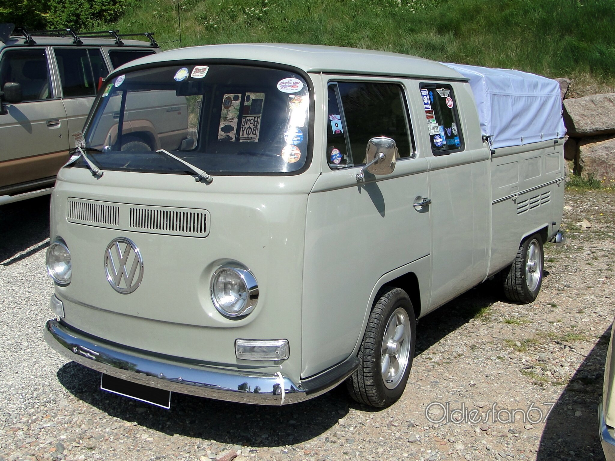 volkswagen combi doka double cabine oldiesfan67 mon blog auto. Black Bedroom Furniture Sets. Home Design Ideas