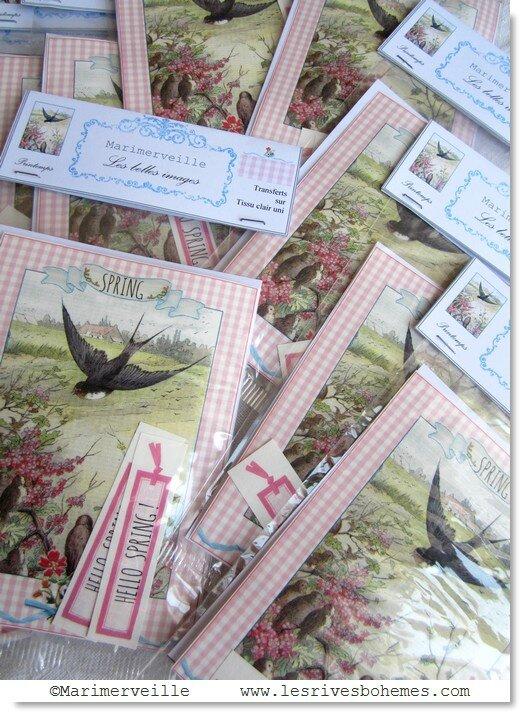 Marimerveille pochettes hello spring