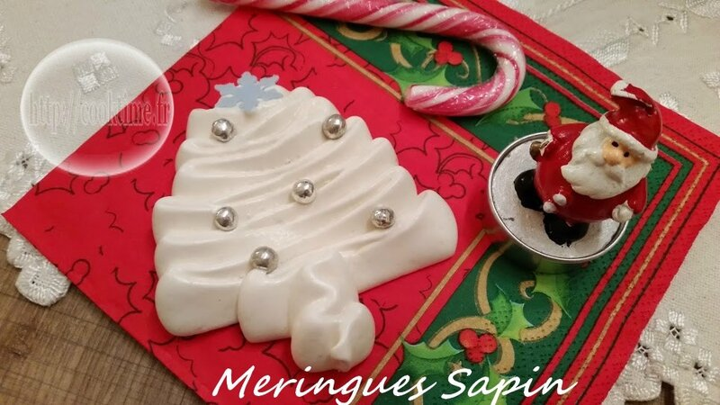 meringues sapins thermomix 4