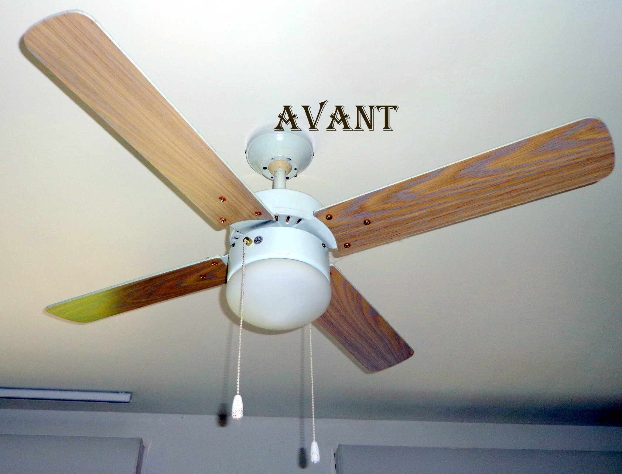 mon luminaire ventilateur avant apr s recyclage et cr ation. Black Bedroom Furniture Sets. Home Design Ideas