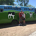 La ben&jerry factory de waterbury dans le vermont !