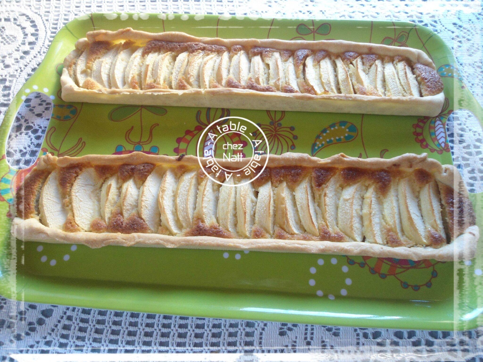 tarte aux pommes frangipane 2
