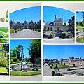 Fontainebleau - jardins et paons