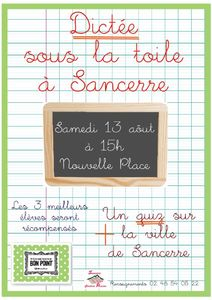 AFFICHE-DICTEE-11-A3