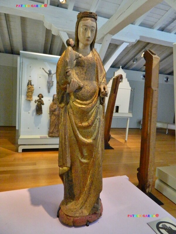 BAYONNE MUSEE 1ER VIERGE A ENFANT 13EME 345 copie