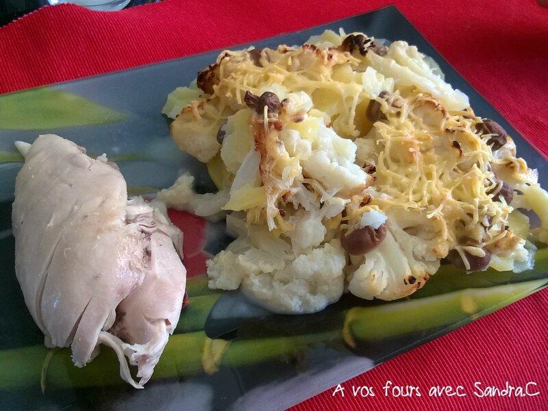 Gratin de pomme de terre chou-fleur 3