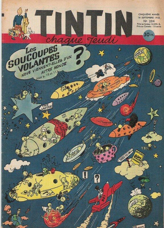 1952 - Les soucoupes volantes vues par Bob !