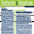 Alcool et stéréotypes - recherche & alcoologie (ireb) n°42