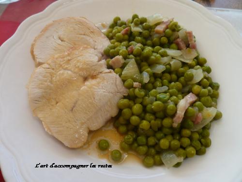 Recette - Rôti de porc aux lardons | 750g