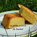 Gâteau invisible pommes/vanille