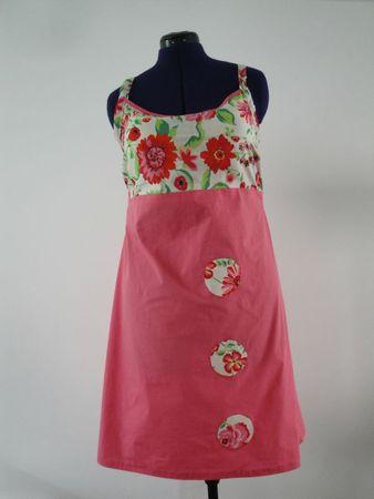 Robe à Fleurs 001