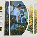 fête du mimosa Saint Trojan février 2012