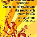 Rencontres internationales des mouvements contre les ogm