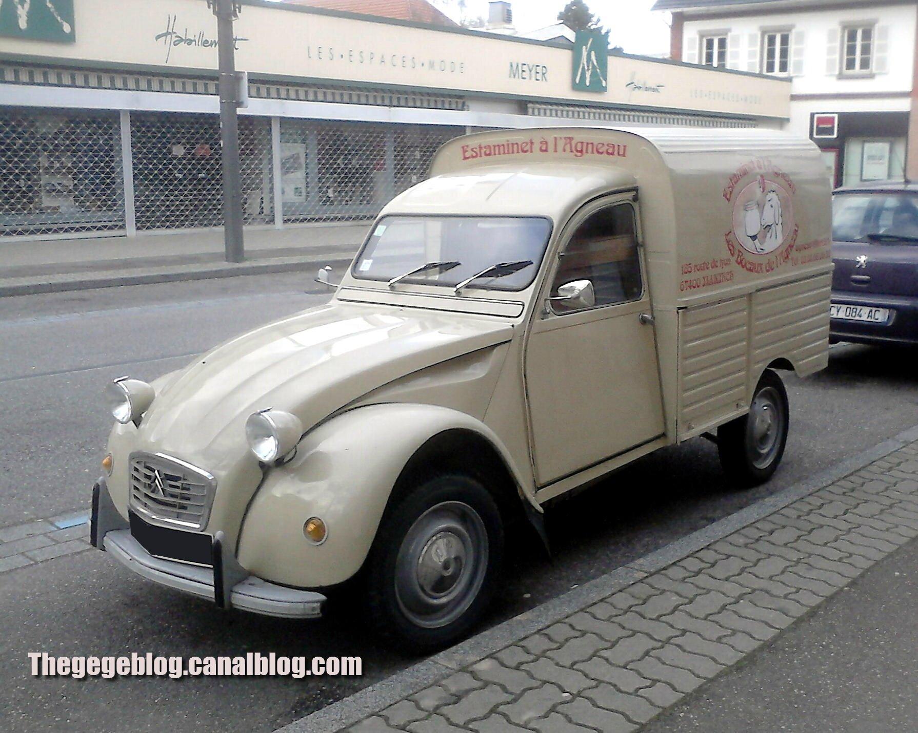 2cv fourgonnette 1972