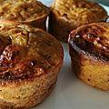 Muffins au thon (sans gluten)