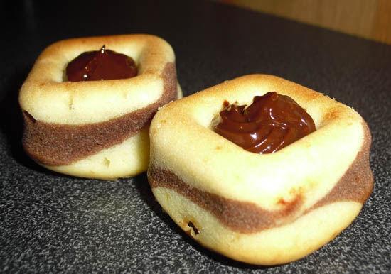 Gateaux chocolat danette