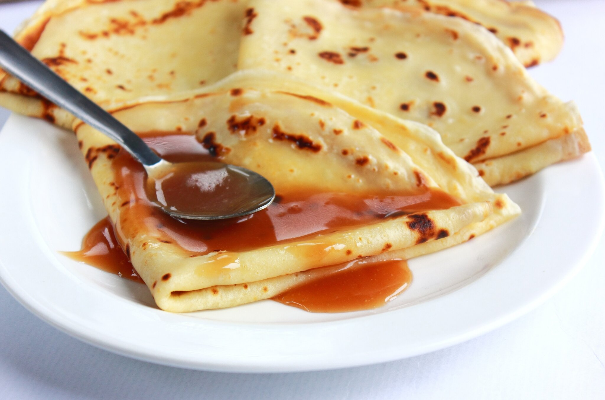 sauce perfect crepes with salted caramel sauce recipe on food52 butter ...