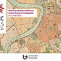 Carto : ichc 2015 - anvers