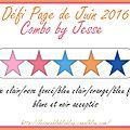 Défi page de juin 2016 - page de célinenoa