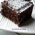 Brownies fondants