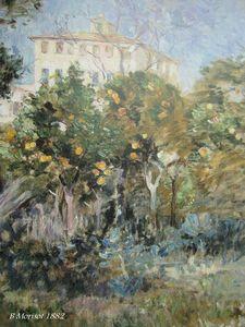 villa dans les orangers Nice- Huile