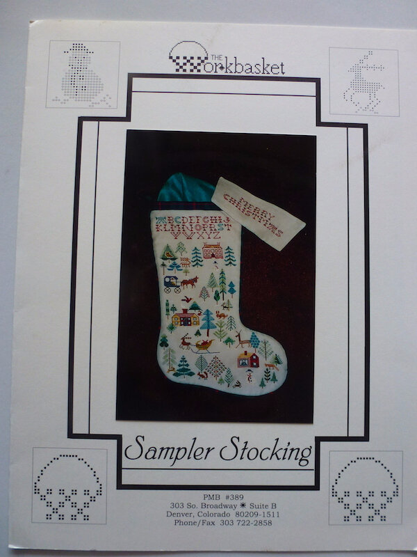 THE WORKBASKET SAMPLER STOCKING