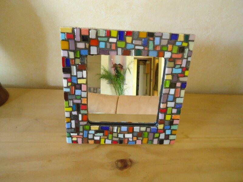 miroir multicolore