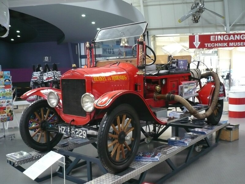 FORD Model T camion de pompiers 1923 Speyer (1)