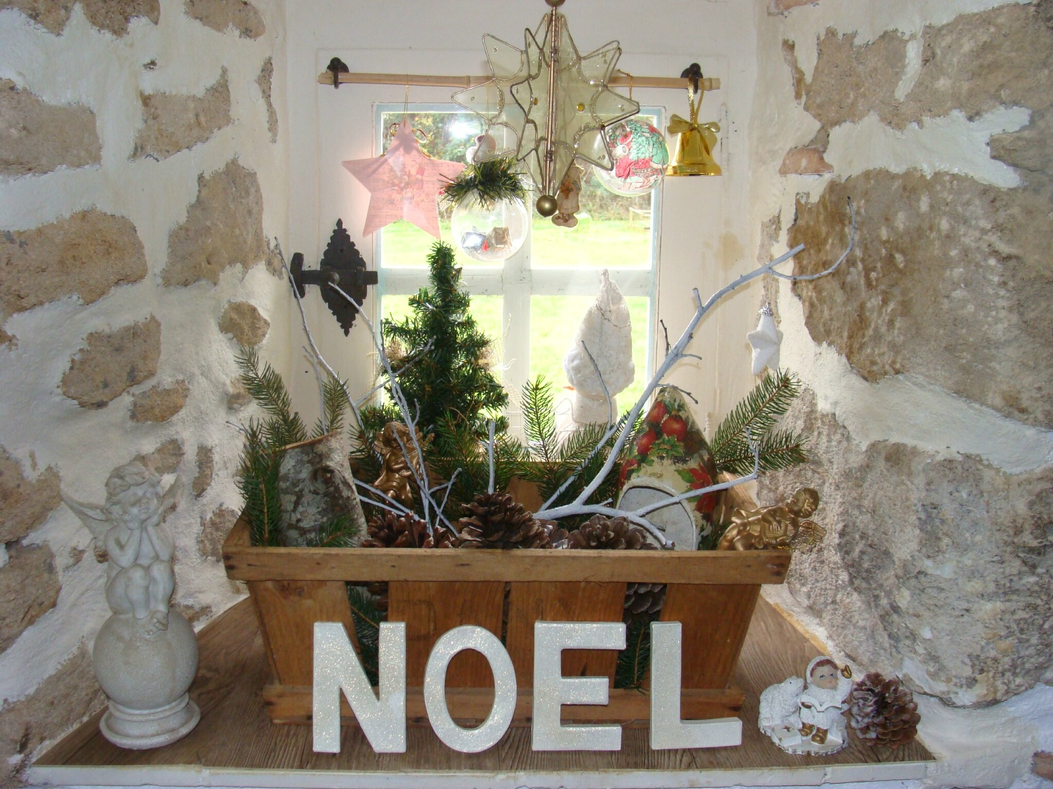 Decoration de noel interieur d coration du sapin de no l for Decoration noel interieur