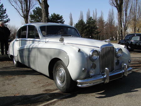 JAGUAR Mark IX 1959 Retrorencard 3