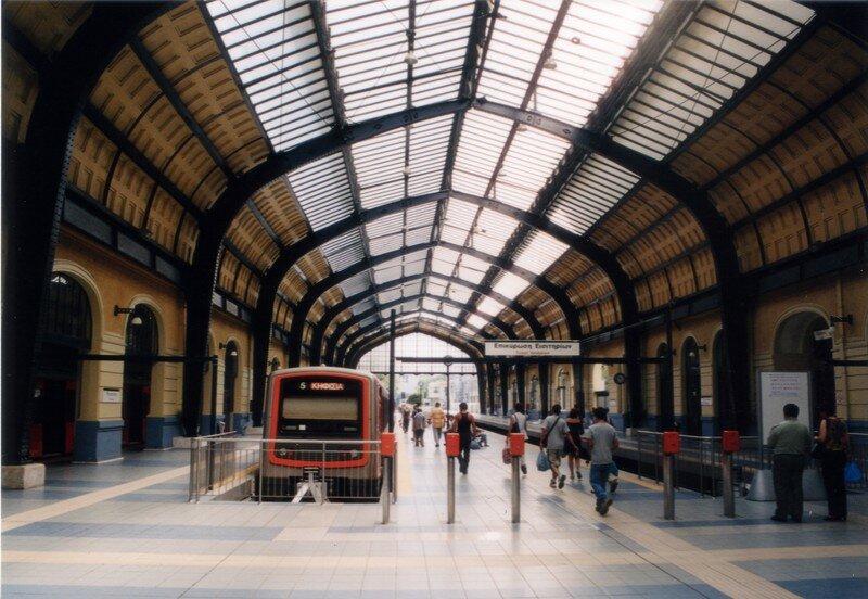 Métro Athènes - Gare Terminus
