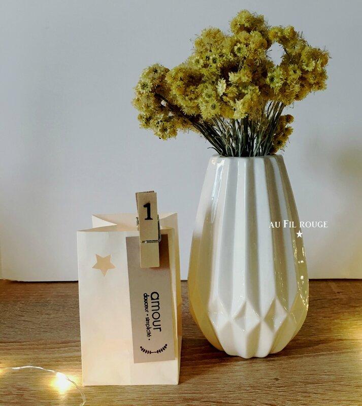 Bougies de l'Avent 1