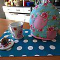 It's tea time! - défi cocooning des sérial défieuses
