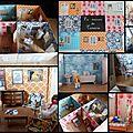 Livres carroussels et livre decor